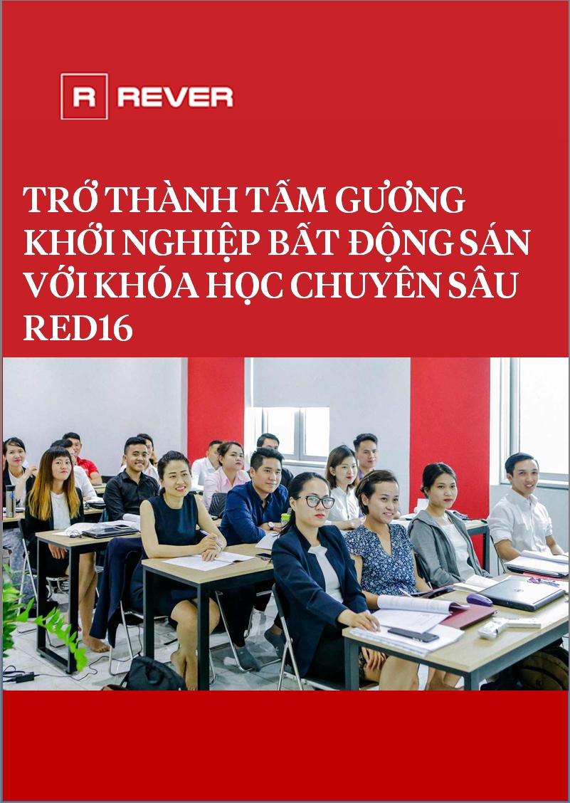 Khởi nghiệp môi giới với khóa học chuyên sâu Red16